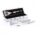 Grillset Classic, silber